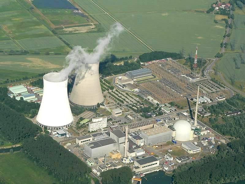 Nuclear Plant in Philippsburg, Germany