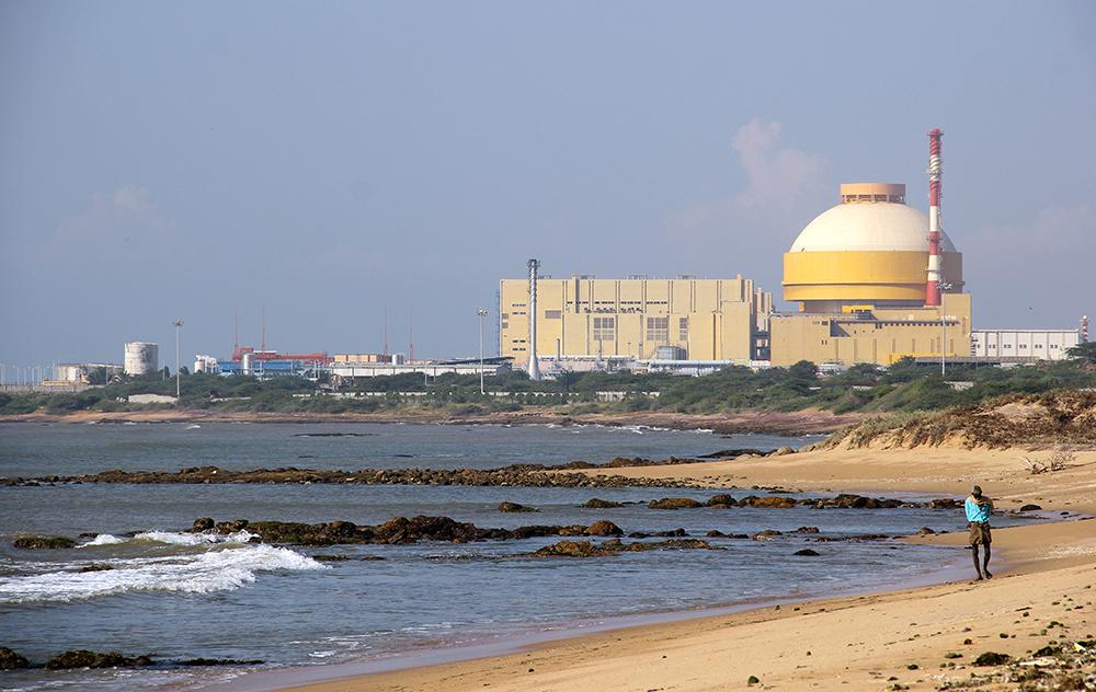 The Kudankulam Nuclear Power Plant in India