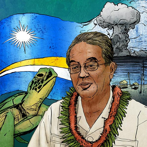 Tony de Brum on Marshall Islands' nuclear lawsuit