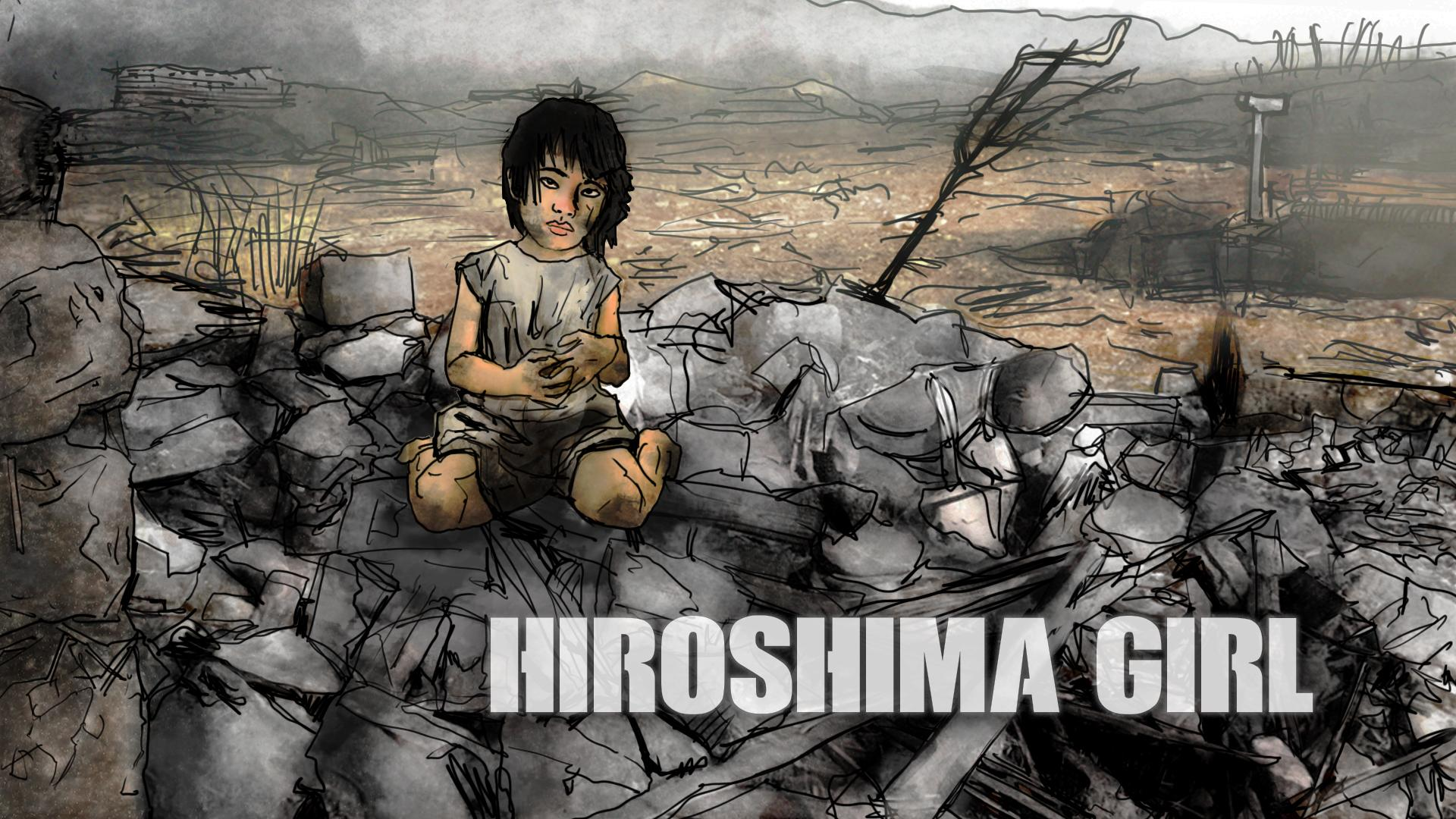 Hiroshima Girl: Illustration by Etienne Cipriani